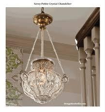 savoy petite crystal chandelier 3 gif