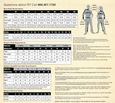 Sizing Charts Body Armor Outlet