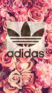floral Adidas Background JPEG