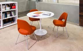 furniture inch round tulip dining table marble saarinen white laminate hivemodern com 36 tulip table