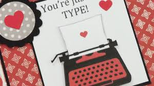 you re just my type valentine card paper play sketch 32 you re just my type valentine card paper play sketch 32