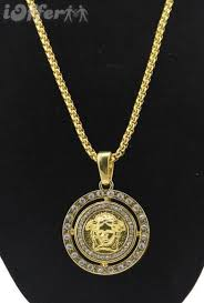 new mens 18k gold necklace hip hop jewelry
