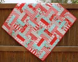 10 best Baby Stoner NYC Quilt images on Pinterest | Nyc, Stoner ... & Big & Little Fence PDF Baby Quilt Patterns by JennyMFabrics, $8.00 Adamdwight.com