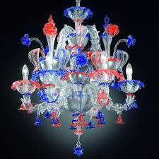 sissi ca rezzonico chandelier in murano blown glass