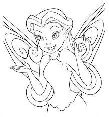 Small Picture Disney Fairies Coloring Pages Silvermist Coloring Pages