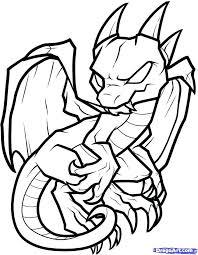 Dragon Coloring Pages Easy Sleekadscom