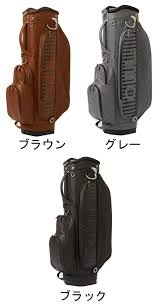オウル ouul vintage leather style men golf cart bag cad bag su8ct5 2018 new work