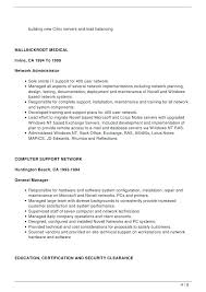 Sample Cover Letter For Network Engineer Template It Support ...