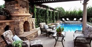 backyard designs. Poolside, Tri Level Outdoor Fireplaces The Green Scene Chatsworth, CA Backyard Designs G
