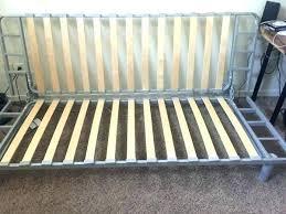 ikea wooden futon assembly instructions using modern mattress