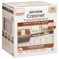 Refinish Cabinet Kit Rust Oleum Transformations Light Color Cabinet Kit 9 Piece