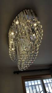 surprising oval shaped crystal chandelier 18 modern contemporary shape rain drop suspension lamp lighting fixture for dining room