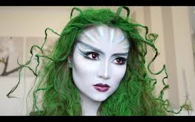 medusa scales easy makeup tutorial makeup seven the mouthed woman from carved