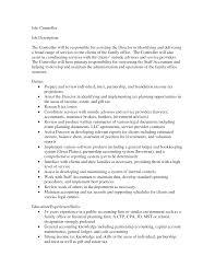 Assistant Controller Job Description Financial Controller Job Description Template Templates Bunch Ideas 1