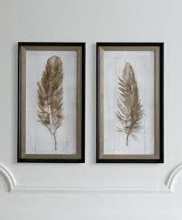 feather wall art nz full size