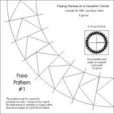 flying geese paper piecing pattern. | Quilts & Sewing Videos/How ... & FLYING GEESE quarter circle. OH YEAH.. Quilting TipsQuilting PatternsCircle Quilt  PatternsFree Paper Piecing ... Adamdwight.com