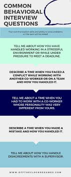 Examples Of Behavioral Interview Questions Sample Behavioral Interview Questions And Answers