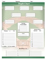 Baseball Lineup Card Printable Magdalene Project Org