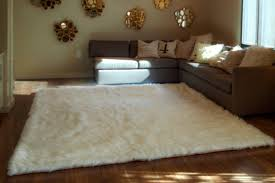 white fluffy area rug best decor things