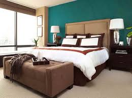 Perfect Ideas Turquoise Brown Bedroom Best Paint