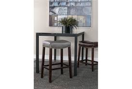 Clear Dining Room Table Ina Matte Black 60 Inch Dining Table W Clear Glass Living Spaces