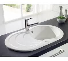 white kitchen sink. Leighton Ceramic Compact 1.0 Sink White Kitchen S