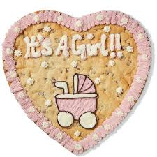 <b>It's A Girl</b>!! | Giant Cookie | Millie's Cookies <b>It's A Girl</b>!!