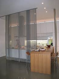 Woven Wire Metal Room Divider modern-kitchen