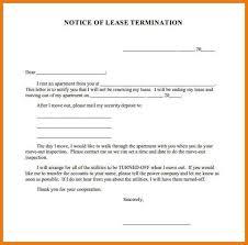termination notice lease termination notice