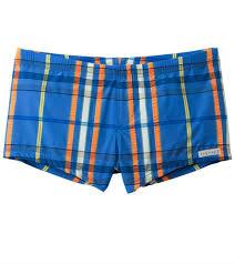 Sauvage Swimwear Size Chart Sauvage Mens Como Italia Plaids Square Cut Swim Short