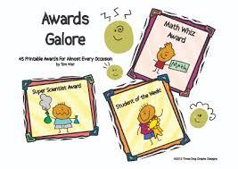 Printable Awards And Certificates Printable Awards And Certificates
