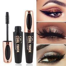 dels about black eye lashes women big eyes silk fiber eyelash 4d maa makeup extension