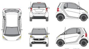 Smart Car Wrap Template