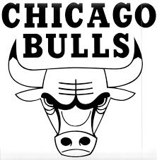 bulls logo black and white. Chicago Bulls Logo Black And White Inside Pinterest