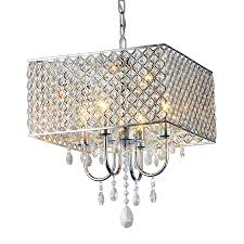 warehouse of tiffany chandelier. Warehouse Of Tiffany 16.5-in 4-Light Chrome Cage Chandelier