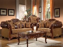 Traditional Living Room Set Contemporary Living Room Furniture Vendome Traditional Dark Wood