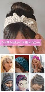 Free Knitted Headband Patterns Amazing 48 FREE Knitting Headbands Patterns Crafty Tutorials