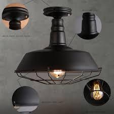 vintage looking lighting. Novelty Ceiling Lights Loft Industrial Vintage E27 Dia 14\ Looking Lighting