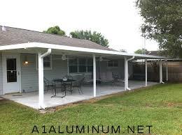 aluminum patio cover in flat pan aluminum patio cover