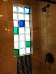 rustic glass shower blocks home depot glass block shower kits home depot f7130691