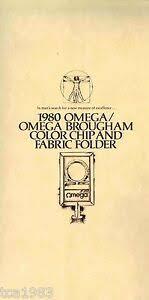 Details About 1980 Oldsmobile Omega Color Chart Brochure Brougham