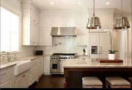 White Kitchen Backsplash Top White Kitchen With Subway Tile Backsplash Cool Design Ideas 1175