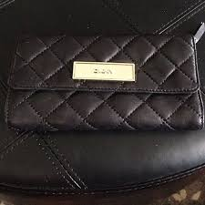 57% off DKNY Clutches & Wallets - DKNY classic black quilted ... & DKNY classic black quilted wallet Adamdwight.com