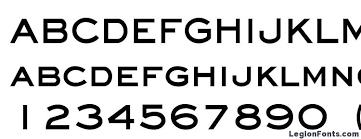 Eyechart Bold Font Download Free Legionfonts