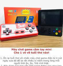 Máy chơi game cầm tay mini sup 500 in 1 nhiều hơn sup 400 - Tặng tay