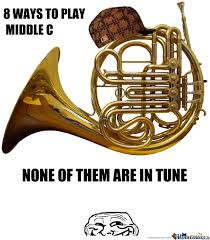 French Horns... by jazzchameleon - Meme Center via Relatably.com