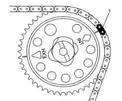 timing chain service procedures gm 2 2l l61 ecotec camshaft sprocket figure 2