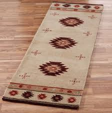 brown bathroom rug runner
