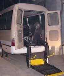 wheelchair lift for van. Motorised Wheelchair Lift For Van