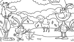 Cat coloring pages are fun, but they also help kids develop many important skills. Nature Cat Coloring Pages Wttw Chicago